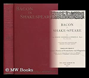 Bacon is Shake-speare / by Sir Edwin: Durning-Lawrence, Edwin, Sir