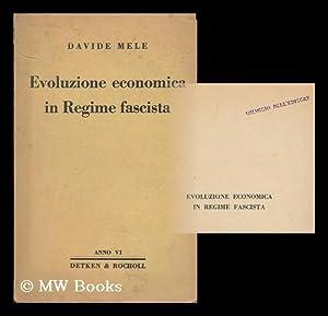 Evoluzione economica in regime fascista: Mele, Davide