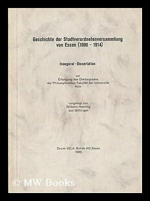 Geschichte der Stadtverordnetenversammlung von Essen (1890 - 1914): Henning, Wilhelm