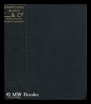 """Co. """" / by Jean-Richard Bloch ; Translated by C. K. Scott-Moncrieff: Bloch, Jean Richard ..."""