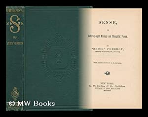 Sense or Saturday-Night and Thoughtful Papers /: Pomeroy, Mark Mills