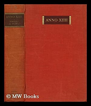Anno XIIII : the conquest of an empire / with an introduction by Benito Mussolini ; translated...