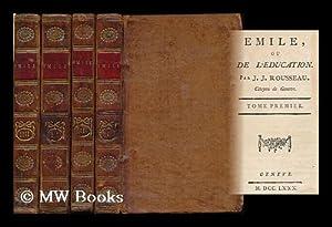Emile, ou, De l'education / par J.J.: Rousseau, Jean-Jacques (1712-1778)