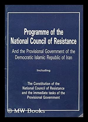 Programme of the National Council of Resistance: Union of Moslem