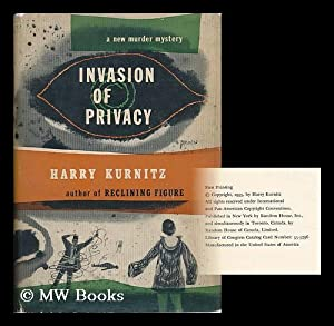 Invasion of Privacy / by Harry Kurnitz: Kurnitz, Harry