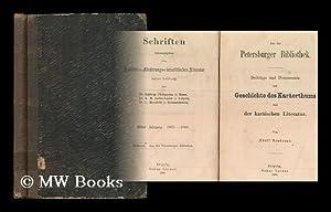 Aus der Petersburger bibliothek : Beitrage und documente zur geschichte des karaerthums und der ...