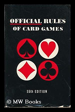 Official rules of card games / Albert: Morehead, Albert Hodges