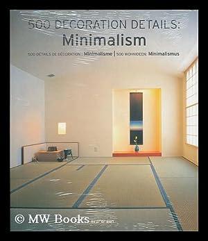 500 decoration details : minimalism = 500 details de decoration : minimalisme = 500 wohnideen : ...