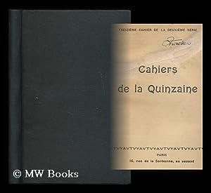 Cahiers de la quinzaine : 2. series, 13. cahier: Cahiers de la Quinzaine (France) ; Dreyfus, Alfred...