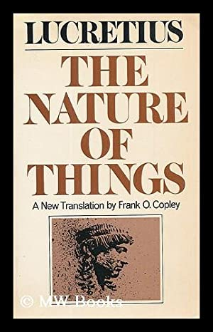 The nature of things / Lucretius ;: Lucretius Carus, Titus.