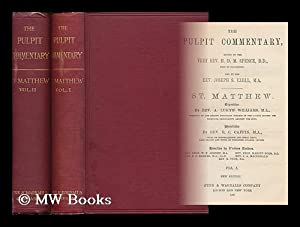 St. Matthew / exposition by A. Lukyn Williams ; homiletics by B.C. Caffin ; homilies by various ...