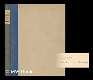 Francis Weld Peabody, 1881-1927, a Memoir: Peabody, Francis Greenwood (1847-1936)