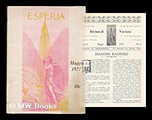 Esperia : Maggio 1927: Esperia [Periodical]