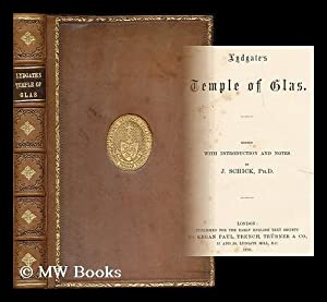 Lydgate's Temple of glas / edited with introduction and notes by J. Schick: Lydgate, John...