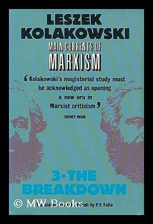 Main currents of Marxism : its origins,: Kolakowski, Leszek. Falla,