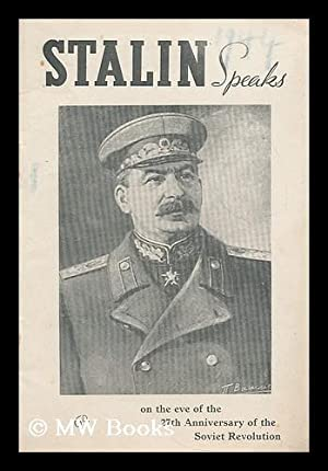 Report by J. V. Stalin, Chairman of the State Committee for Defence on the 27th anniversary of the ...