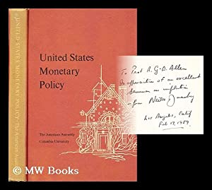 United States Monetary Policy: Its contribution to prosperity without inflation: Jacoby, Neil H. (...