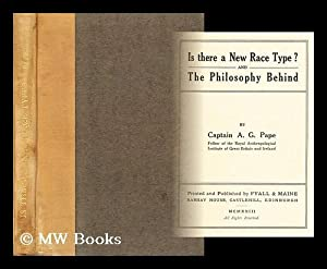 Is there a new race type? and The philosophy behind / by Captain A.G. Pape: Pape, A. G. (...