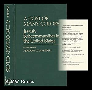 a coat of many colors jewish lavender abraham d - Coat Of Many Colors Book