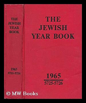 The Jewish Year book. 1965: 5725-26: Harris, Hugh (ed.)