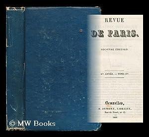 Revue de Paris : seconde edition : 5me annee - tome 2: Gozlan, Leon (1803-1866) [et al.]
