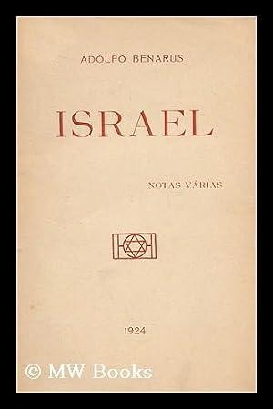 Israel : Notas Varias: Benarus, Adolfo (1863-)