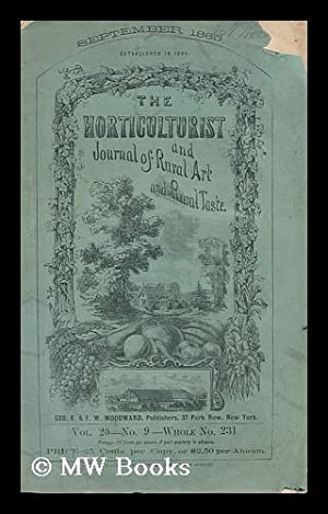 The Horticulturist, and Journal of Rural Art: Anon.