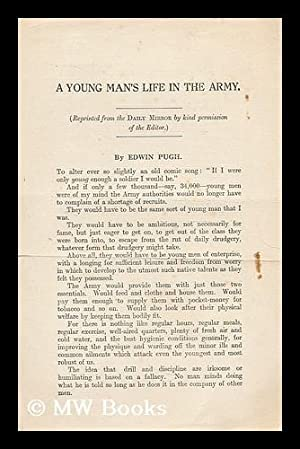 A young mans life in the Army: Pugh, Edwin