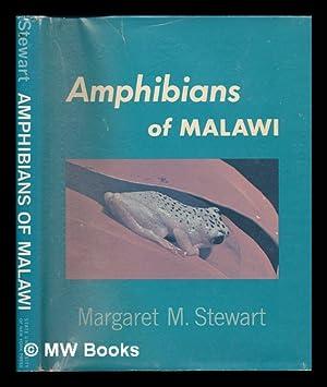 Amphibians of Malawi / by Margaret M. Stewart ; Illustrated by the Author: Stewart, Margaret M.
