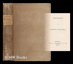 Poems / by Samuel Rogers: Rogers, Samuel (1763-1855)