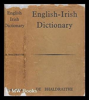 English-Irish dictionary: De Bhaldraithe, Tomas
