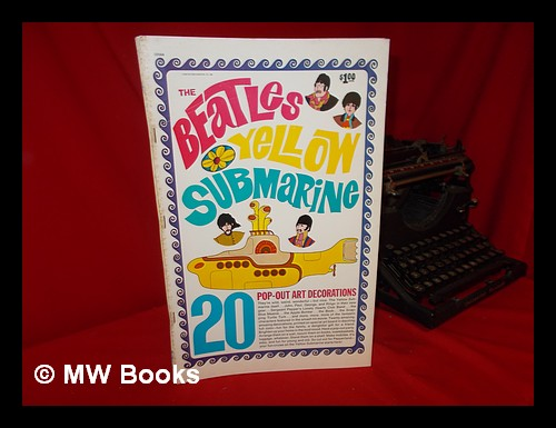 The Beatles Yellow Submarine 20 Pop Out Art Decorations By King