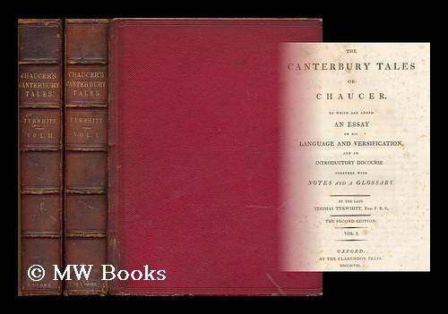 The Canterbury Tales Of Chaucer To Which Are Added An Essay On His  The Canterbury Tales Of Chaucer To Which Are Added An Essay On His  Language And