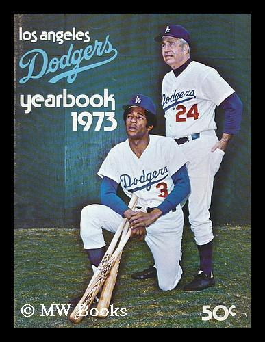 1973 los angeles dodgers yearbook by los angeles dodgers los