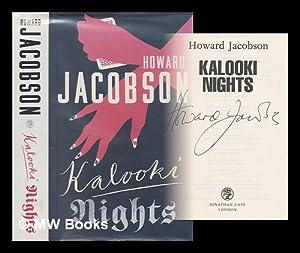 Kalooki nights / Howard Jacobson: Jacobson, Howard