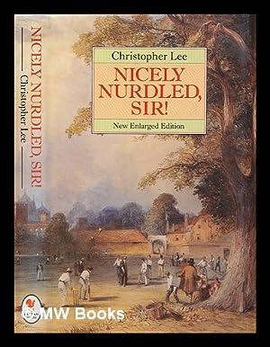 Nicely nurdled, sir!: Lee, Christopher