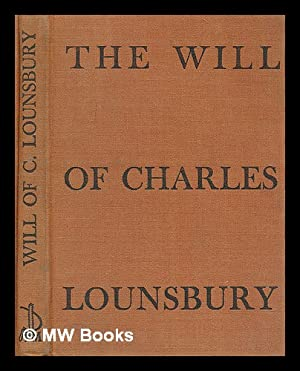 The Will of Charles Lounsbury: Fish, Williston (1858-1939)