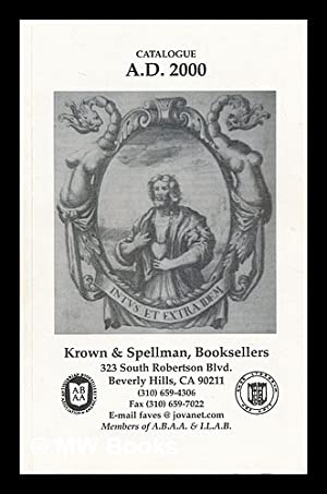 Krown and Spellman, Catalogue A.D. 2000: Krown and Spellman