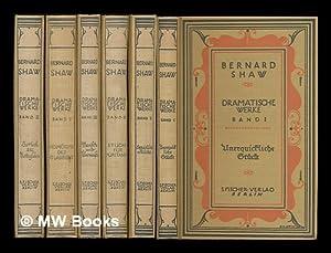 Dramatische Werke / Bernard Shaw [6 volumes]: Shaw, George Bernard (1856-1950)