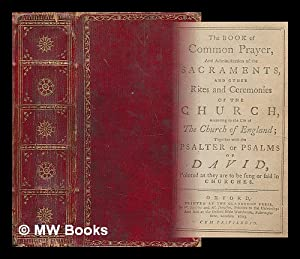 The Book of Common Prayer, and administration: Church of England.
