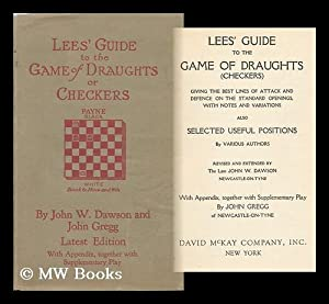 Lee's Guide to the Game of Draughts: Lees, James