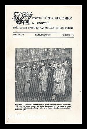 Instytutu Jozefa Pilsudskiego w Londynie Rok xxxxi: Zuziak, Janusz