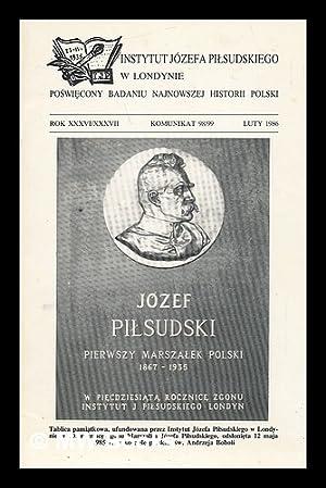 Instytutu Jozefa Pilsudskiego w Londynie: Rok xxxvi/xxxvii: Zuziak, Janusz
