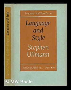 Language and Style, Collected Papers: Ullmann, Stephen
