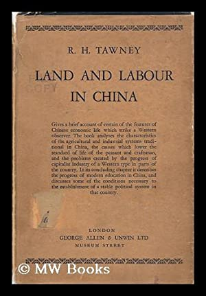 Land and Labour in China / by: Tawney, R. H.