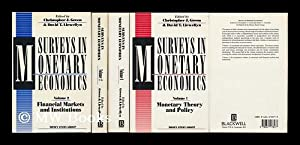 Surveys in Monetary Economics / Edited by Christopher J. Green and David T. Llewellyn on ...