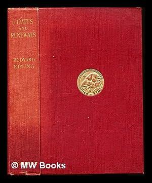 Limits and renewals: Kipling, Rudyard (1865-1936)