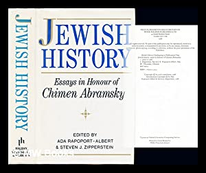 Jewish history : essays in honour of: Rapoport-Albert, Ada. Zipperstein,