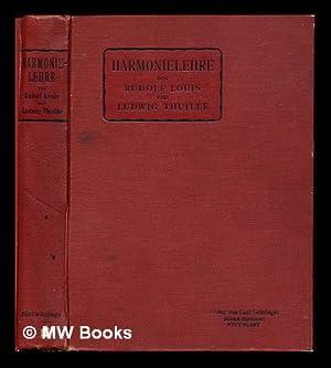 Aufgaben fur den Unterricht in der Harmonielehre: Louis, Rudolf (1870-1914).