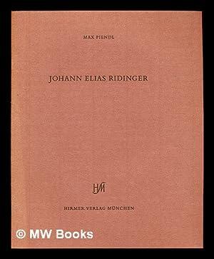 Johann Elias Ridinger : Vorstellung der Pferde: Piendl, Max